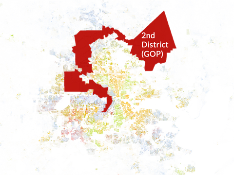 Second GOP Congressional District in Houston