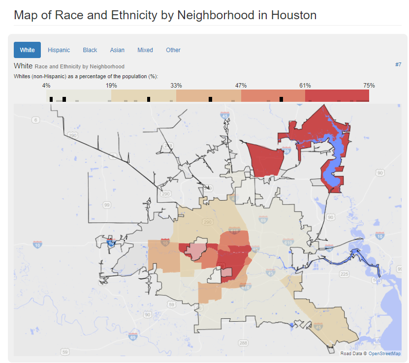 Race and Ethnicity by Neighborhood