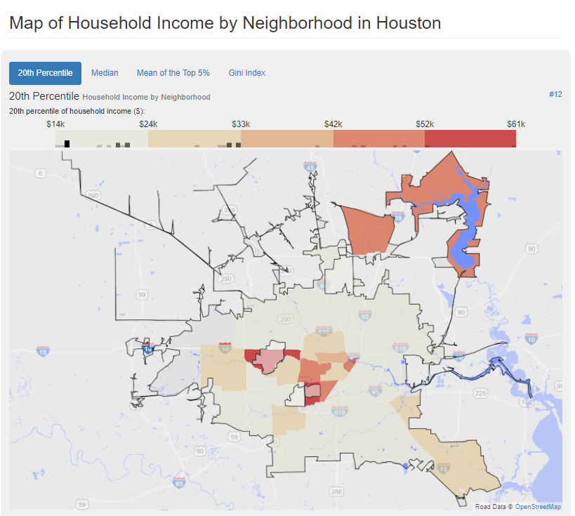 Household Income by Neighboorhood